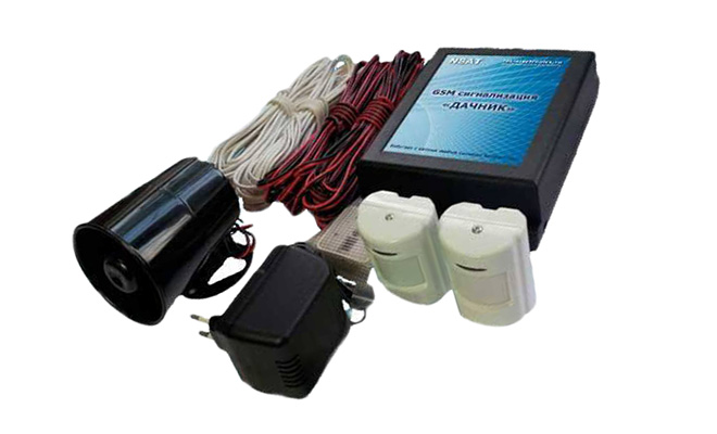 GSM сигнализатор Дачник