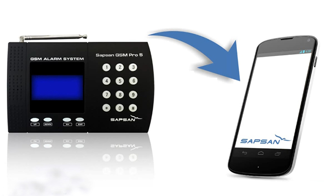Сигнализация Sapsan GSM Pro 5T
