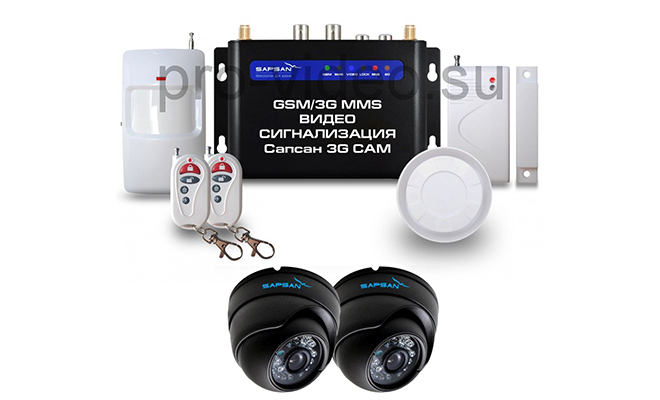 GSM сигнализация Sapsan 3G CAM