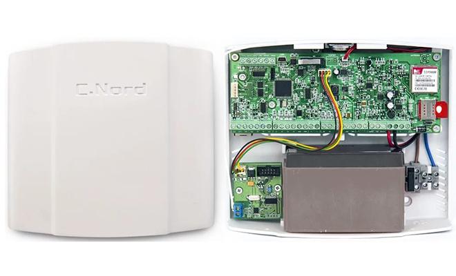 Контрольная панель сигнализации Норд GSM