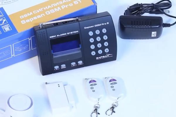 GSM сигнализация Sapsan Pro 5T