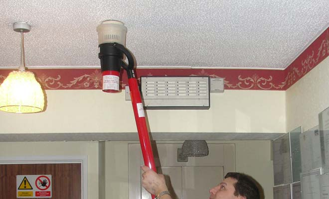 Тестирование пожарных извещателей