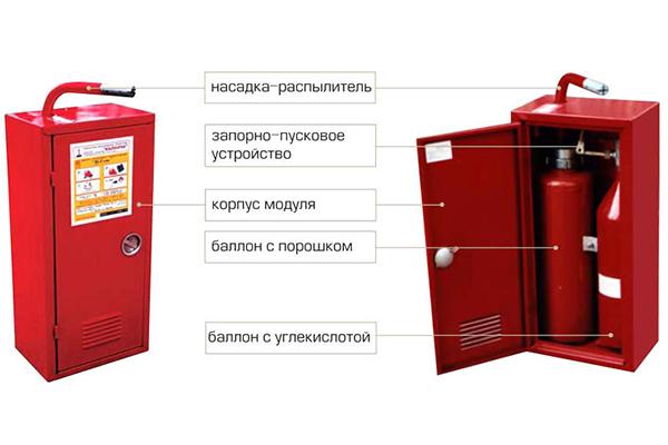 Модуль пожарный Бизон