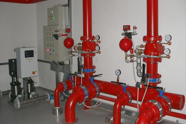 Водяная установка для спринклерного тушения