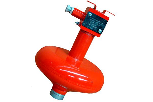 Модуль порошкового пожаротушения Ураган