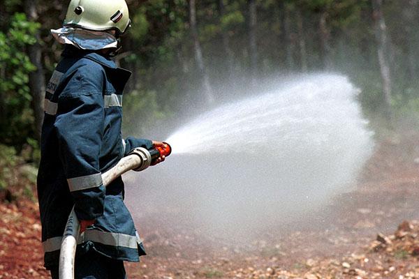 Использование воды для тушения пожаров