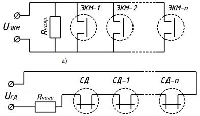 Схема подключения модуля тушения пожаров Импульс