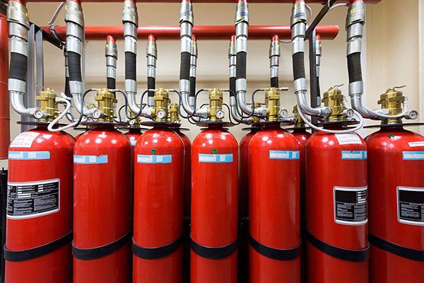 Система аэрозольного пожаротушения