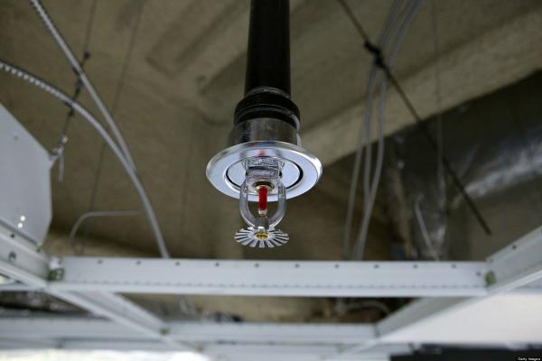 Спринклер для системы пожаротушения