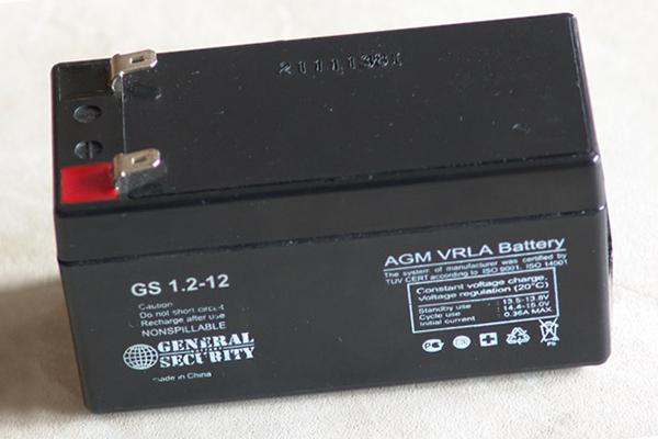 Аккумулятор для пожарной сигнализации