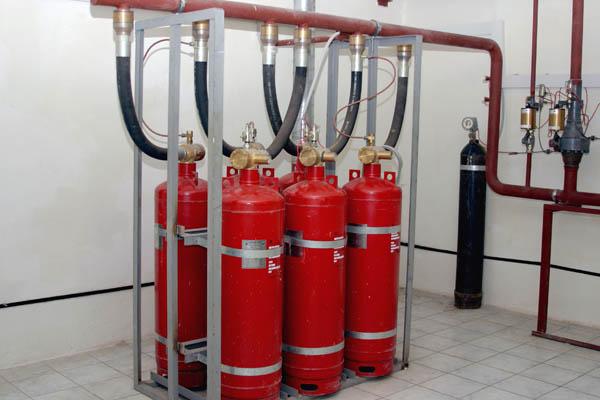 Система автоматического тушения пожаров