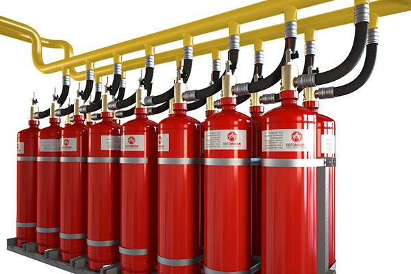 Установка газового автономного пожаротушения