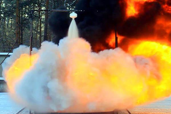 Установка порошкового пожаротушения