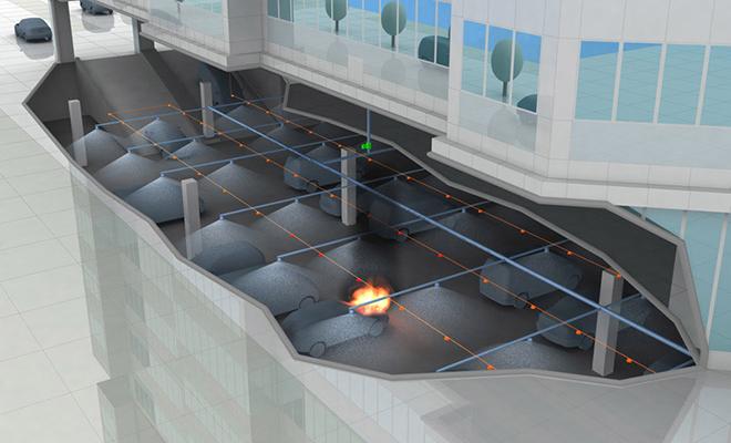 Установки тушения пожаров тонкораспыленной водой