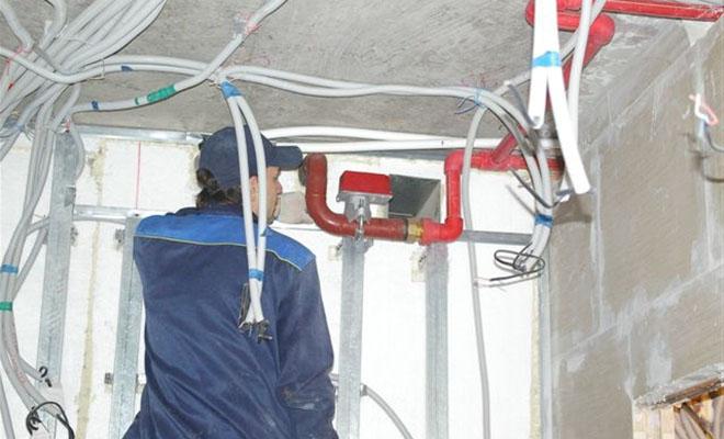Автоматическая система пожаротушения для дома