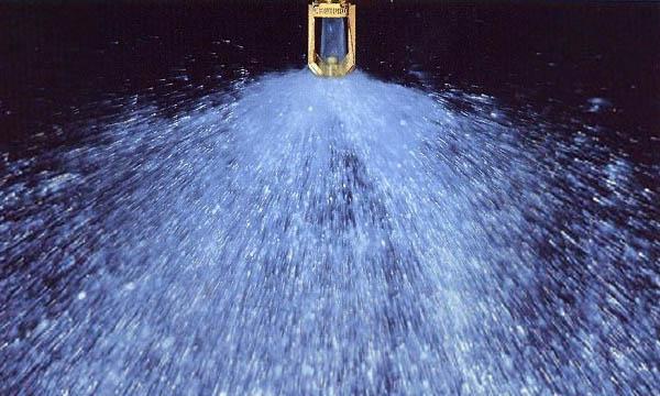 Водяное пожаротушение - спринклер