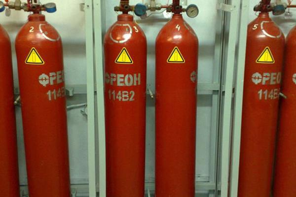 Фреон для пожаротушения