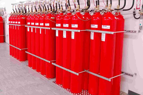 Система газового пожаротушения хладонами