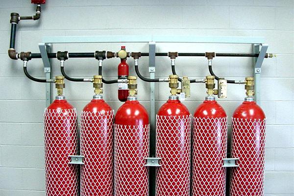 Газовая установка пожаротушения