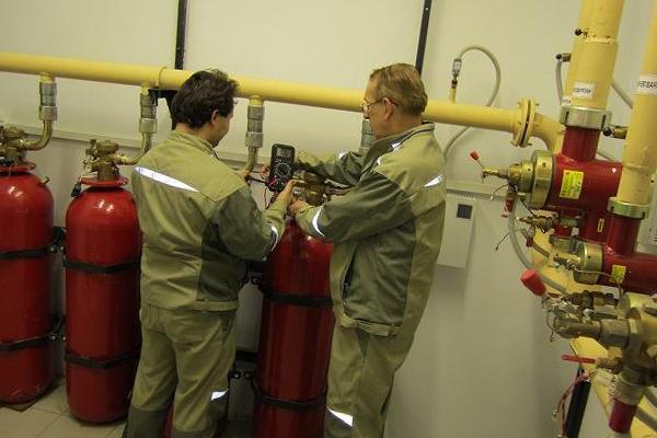 Выявление неполадок в системе пожаротушения