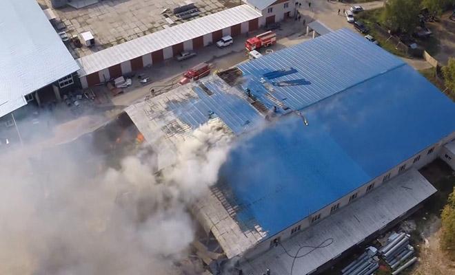 Последствия пожара на производстве