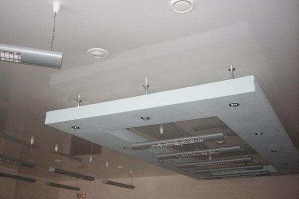 Пожарные датчики под подвесным потолком