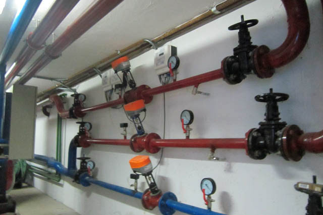 Противопожарная система в зданиях