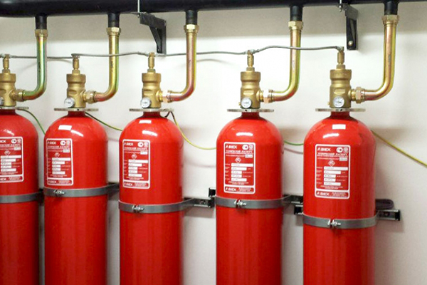Система газового пожаротушения