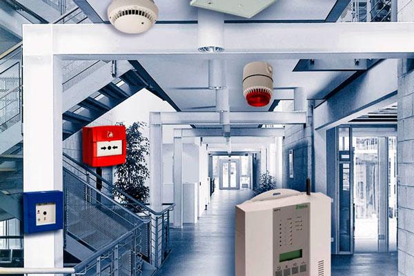 Применение беспроводной пожарной сигнализации на объекте