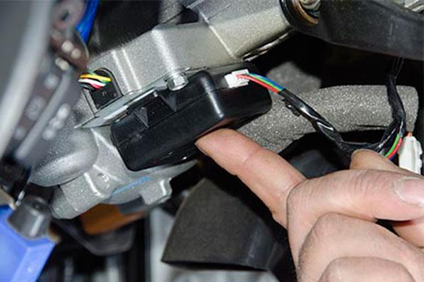 Датчик объема в системе автомобильной сигнализации