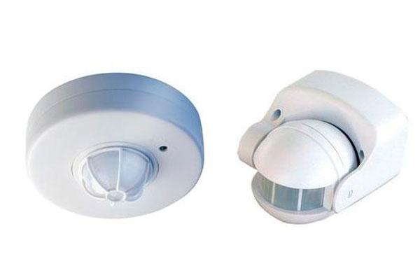 Круговой и направленный датчик включения света