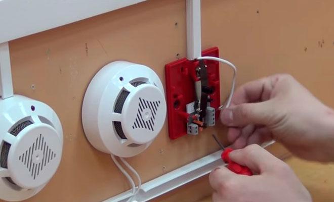 Особенности монтажа пожарной сигнализации