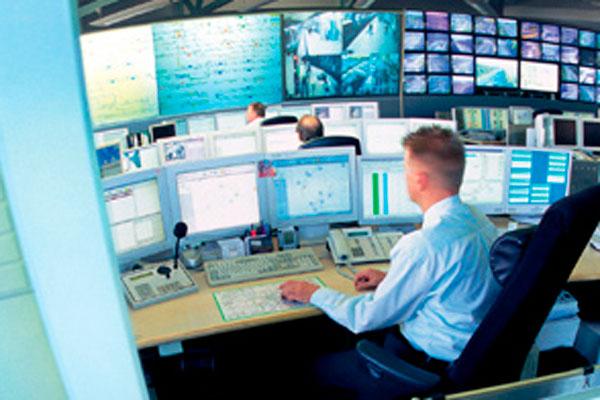 Пульт управления пожарной сигнализации Siemens