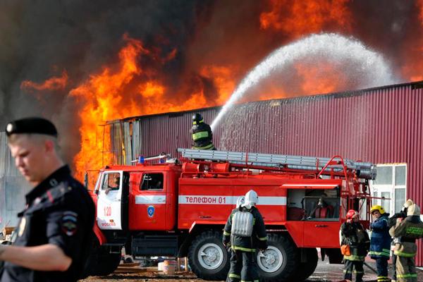 Тушение пожара охлаждающим способом