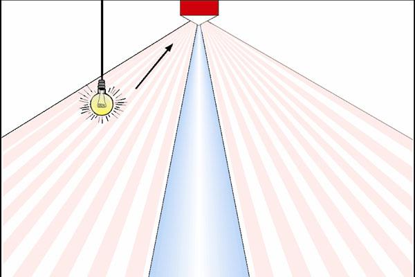 Инфракрасный датчик движения для освещения