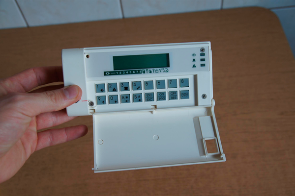 Поломка пульта охранной сигнализации