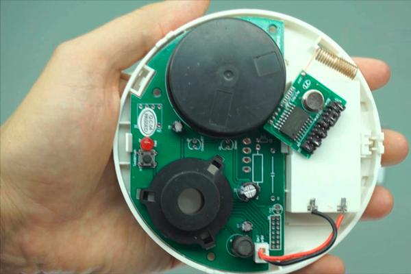 Замена просроченного датчика охранной сигнализации