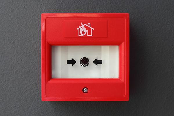 Внешний вид пожарной кнопки