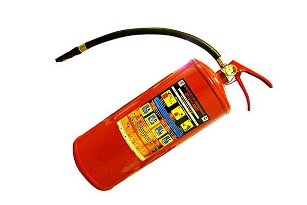 Внешний вид порошкового огнетушителя
