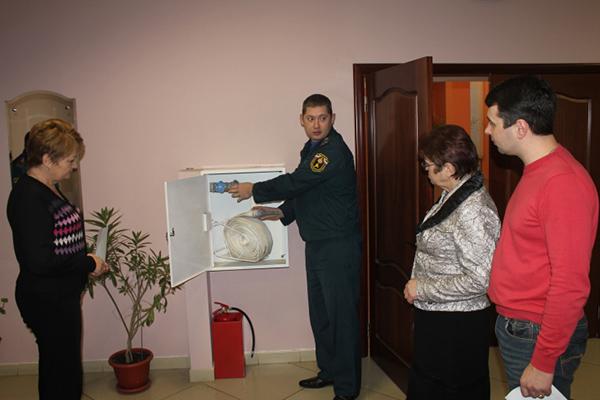 Проведение инструктажа сотрудникам гостиницы