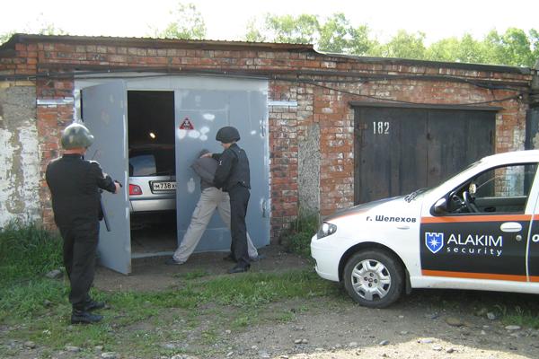 Охрана гаража при помощи пультовой охраны