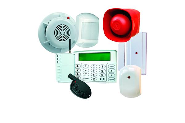 Комплектующие элементы охранно-пожарной сигнализации