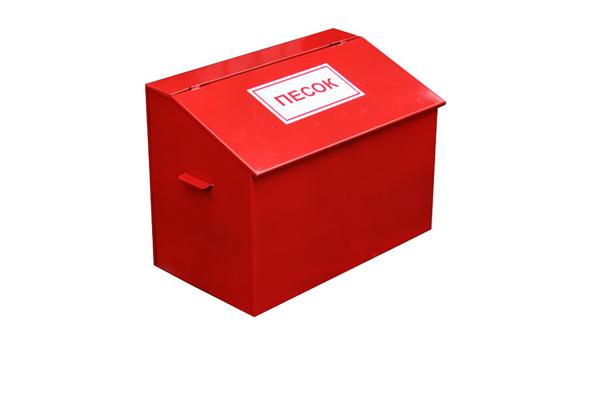 Ящик с песком для тушения пожара