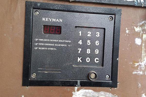 Домофон Keyman - внешний вид