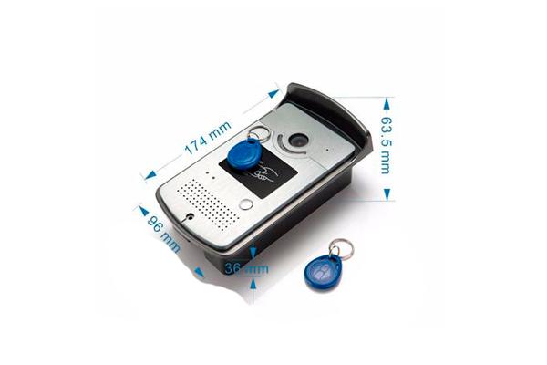 RFID-карта для домофона с видеонаблюдением