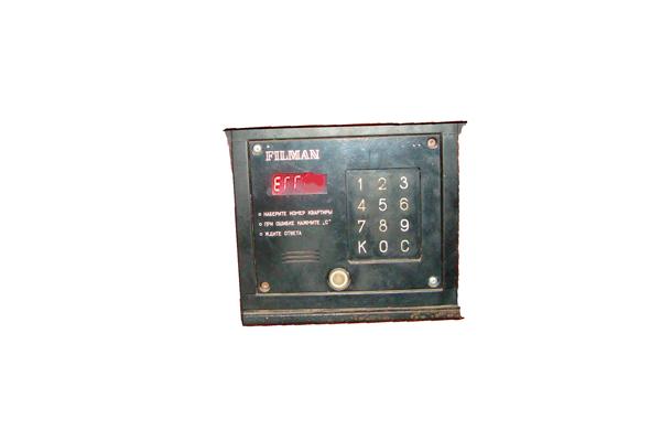 Разблокирование магнитного замка на домофоне Filman