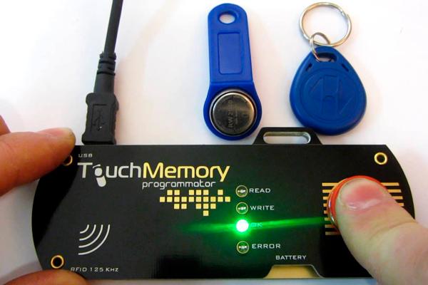Программирование ключа от домофона Touch Memory