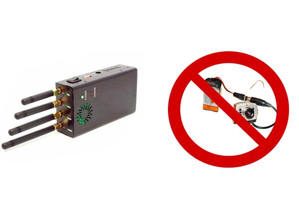 Глушилка для защиты от миниатюрных камер видеонаблюдения