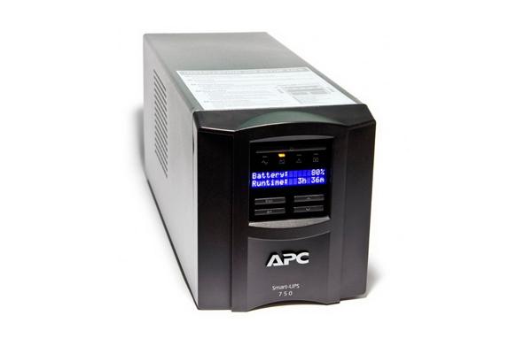 Источник бесперебойного питания APC Smart-UPS 750