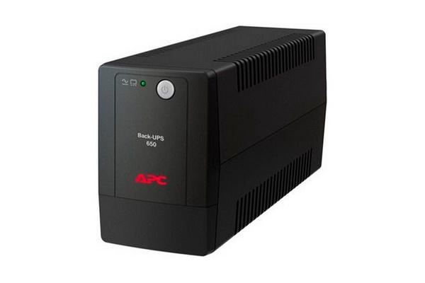 Резервный источник питания для видеонаблюдения APC Back-UPS 650